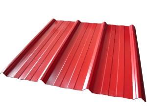 takplåt-rött